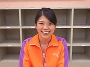 Saitou Yuko gets nailed by two massive dicks well