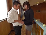 Explosive cumshot for charming sweetheart Mizuho Uehara picture 15