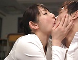 Nikaidou Yuri enjoys creampie after a mind blowing fuck