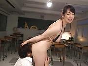 Long hardcore experience for sexy milf Nikaidou Yuri