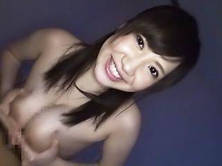 Sleazy milf gives a zealous tit fuck
