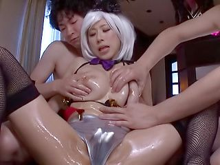 Superb threesome with the sexy Kitagawa Eria