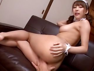 Hardcore action with this amazing Asian lass Ayami Shunka