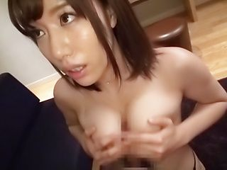 Sexy Kanon Nozaki  gets her tits  covered by a creamy load