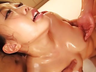 Remi Morioka gets ravaged in a wild threesome