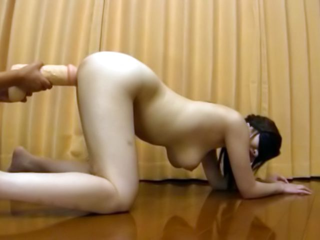 Busty milf plays with cock in naughty manners