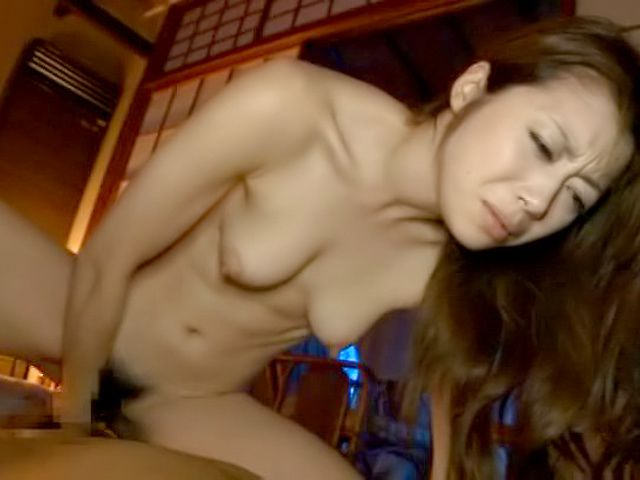 Hot Asian milf loves it when her hairy muff is teased