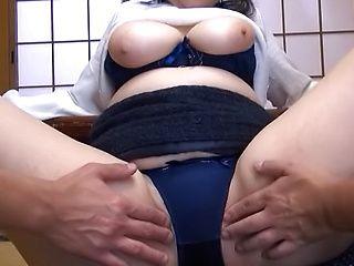 Mature woman invites massive dildos lustfully