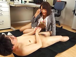 Erotic caress session involving hot Milf Suzuki Risa