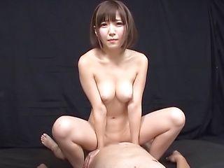 Kizuna Sakura gets her holes filled by hard poles indoors